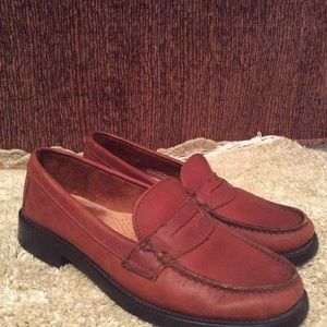 Weejuns Men's Bass Leather Penny Loafers Sz 7.5